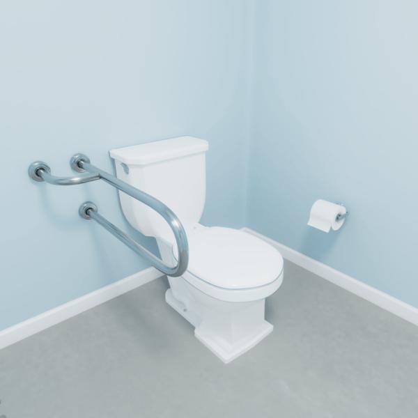 Barra fixa para vaso sanitário